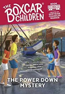 The Power Down Mystery ( Boxcar Children Mysteries #153 )